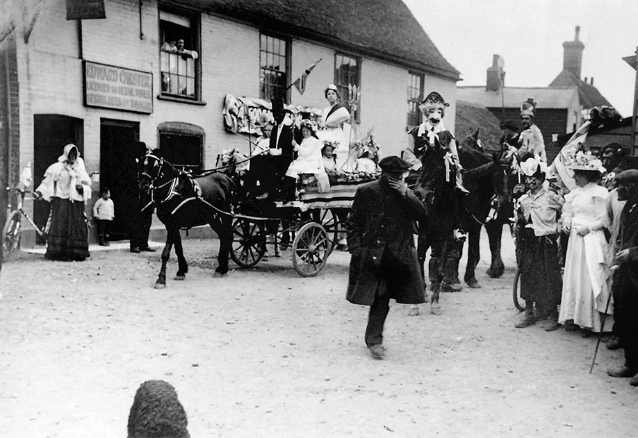 Great Oakley celebrations for the coronation of King George V in 1911.